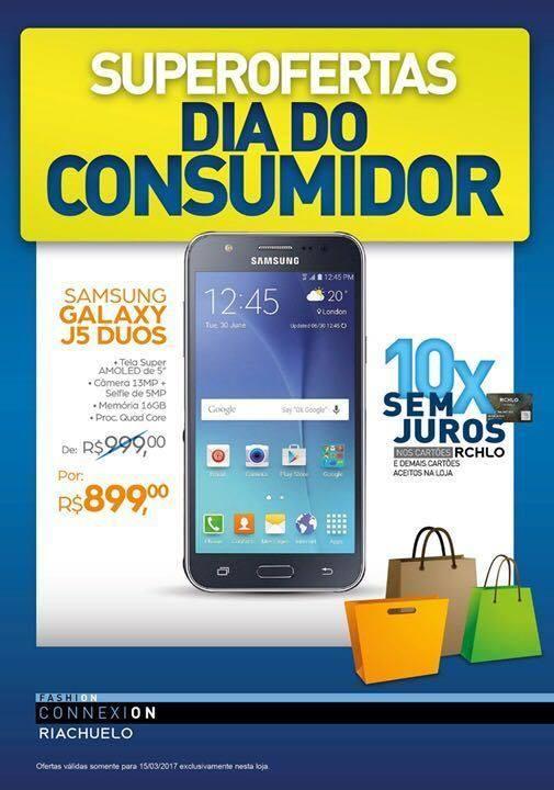 Vem aproveitar as ofertas no Vitória Park Shopping. Celular Samsug Galaxy  J5 Duos de R 999,00 Por  R 899,00. Está Imperdível! Vem e aproveita. f5eb863735