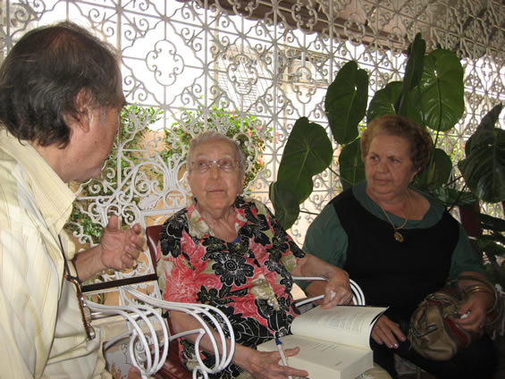 44 - entrevistando professora Maria do Carmo Tavres de Miranda