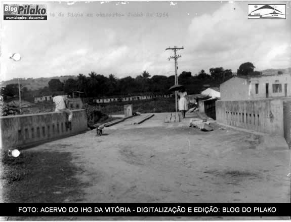 O TEMPO VOA - PONTE DO DIQUE JUNHO DE 1964