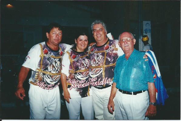 RUA - Carlos Assis, Vera, Bio da Morepe e Zito Mariano - Carnaval 2001 - Bloco da Saudade