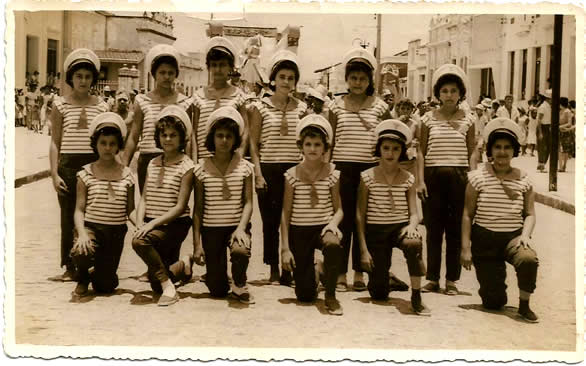 Rua - Cebola Quente - Carnaval de 1960 - Deusdete Queiroz Lisboa