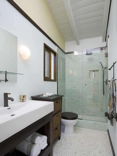 Banheiros decorados como se fossem lavabos  Blog do Pilako -> Banheiro Medio Simples