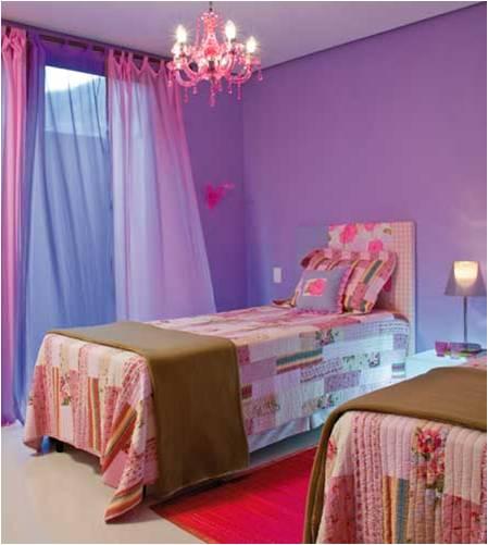 Cores e seu bom uso na decoração – Vermelho, Roxo e Lilás  ~ Cores Para Pintar Quarto E Sala