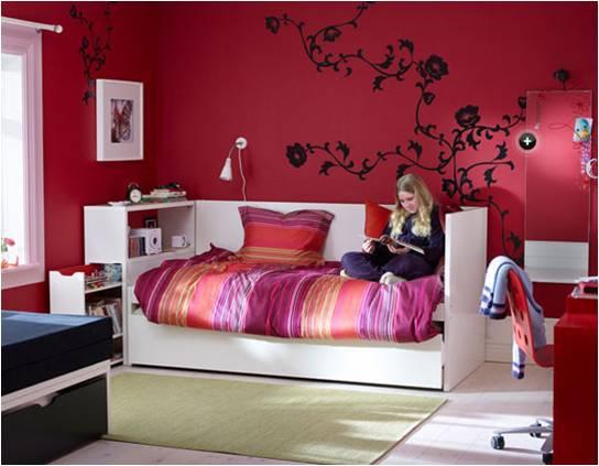 Cores e seu bom uso na decoração – Vermelho, Roxo e Lilás  Blog do Pilako